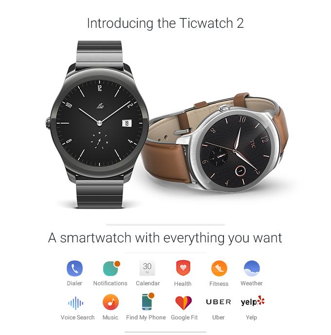 ticwatch 2 gagdet