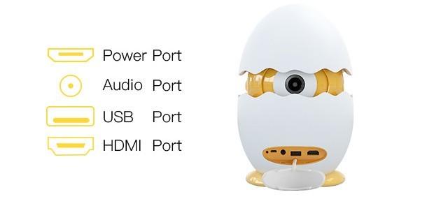 Egger-LED-Projektor-Ports