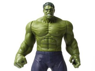 Hulk-Actionfigur-Intro