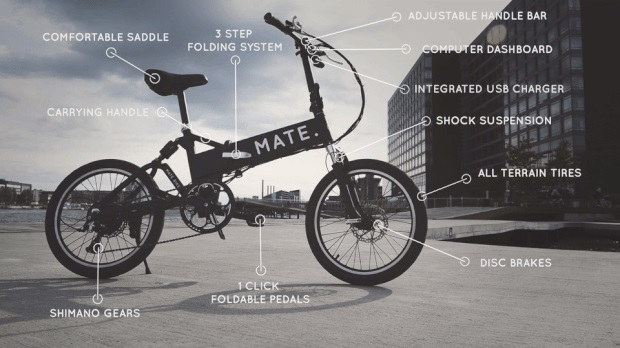 MATE-Klapprad-E-Bike