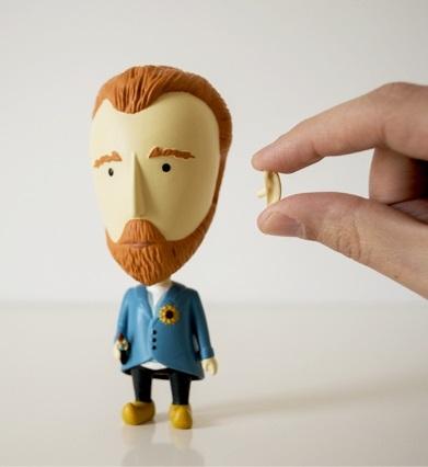 Actionfigur-Maler-Van-Gogh