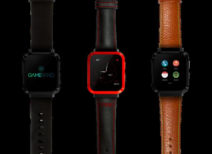 Gamband-Smartwatch-Gamer-Atarie-Klassiker-Terraria