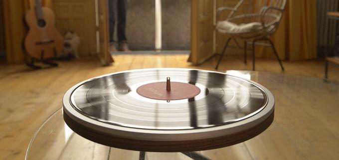 Miniot-Wheel-Schallplattenspieler-Tonabnehmer-Vinyl