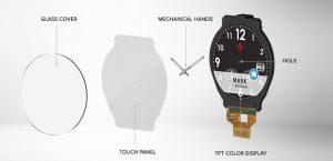 ZeTime-Smartwatch-rund-Zeiger-Zeigerwerk-1