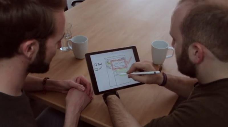 PaperLike-iPad-Pro-papierlos-Arbeiten-Büro