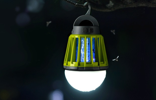 Mücken-Laterne-Stiche-Falle-Camping-Garten