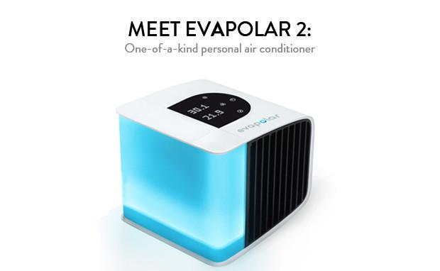 evapolar 2 die klimaanlage f r den schreibtisch. Black Bedroom Furniture Sets. Home Design Ideas