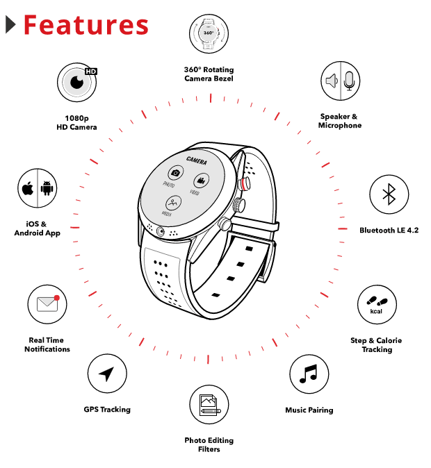 arrow-smartwatch-full-hd-kamera-camera-android-ios-features